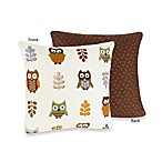 Sweet Jojo Designs Night Owl Decorative Pillow