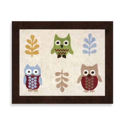 Sweet Jojo Designs Night Owl Accent Floor Rug