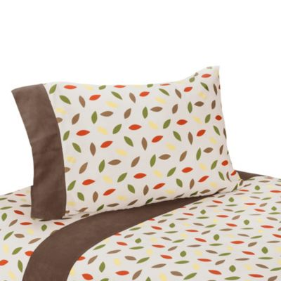 Sweet Jojo Designs Forest Friends 3-Piece Twin Sheet Set
