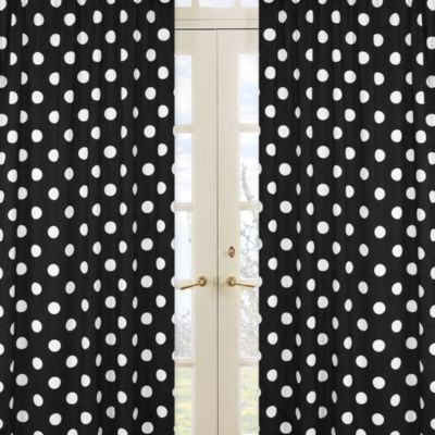 Polka Dot Window Panel