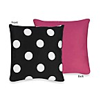 Sweet Jojo Designs Hot Dot Decorative Accent Toss Pillow