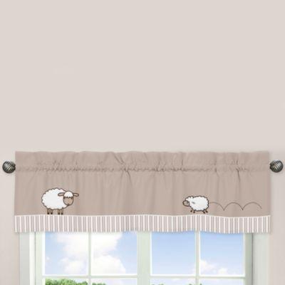 Sweet Jojo Designs Little Lamb Window Valance