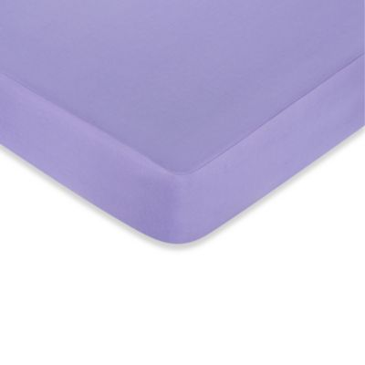 Sweet Jojo Designs Pretty Pony Fitted Crib Sheet in Purple