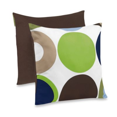Sweet Jojo Designs Designer Dot Throw Pillow