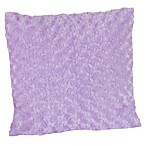 Sweet Jojo Designs Kaylee Decorative Accent Toss Pillow in Minky Swirl