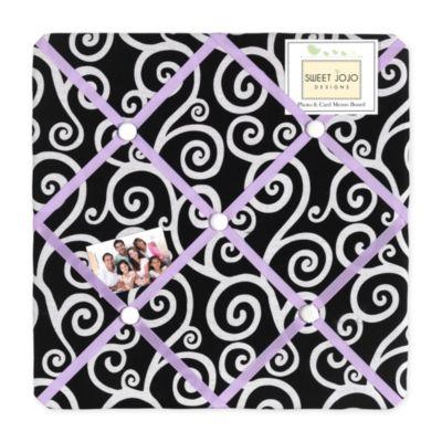 Sweet Jojo Designs Kaylee Fabric Memo Board