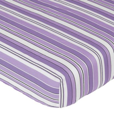 Sweet Jojo Designs Kaylee Fitted Crib Sheet in Stripe Print