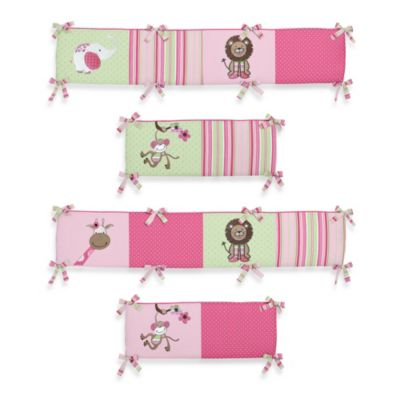 Sweet Jojo Designs Jungle Friends Crib Bumper