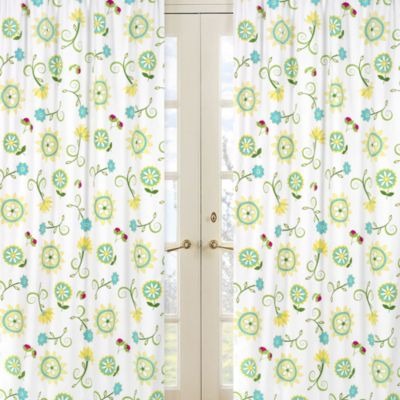 Sweet Jojo Designs Layla Window Panel Pair