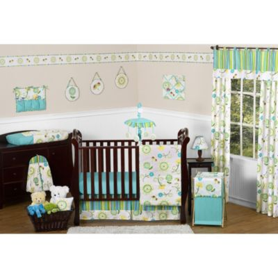 Sweet Jojo Designs Layla 11-Piece Crib Bedding Set