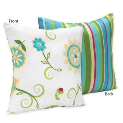 Sweet Jojo Designs Layla Reversible Decorative Pillow