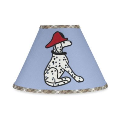 Sweet Jojo Designs Frankie's Fire Truck Lamp Shade