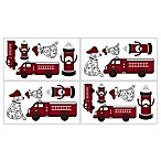 Sweet Jojo Designs Frankie's Fire Truck Wall Decals