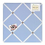Sweet Jojo Designs Frankie's Fire Truck Fabric Memo Board