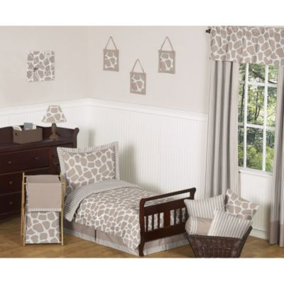 Sweet Jojo Designs Giraffe 5-Piece Toddler Bedding Set