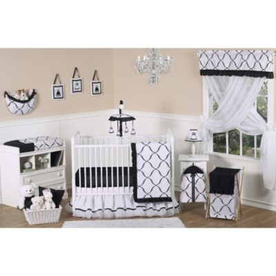White Crib Set