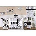 Sweet Jojo Designs Princess 11-Piece Crib Bedding Set in Black/White