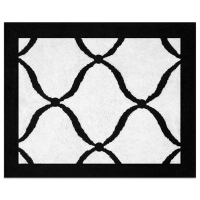 Black & White Room Rug