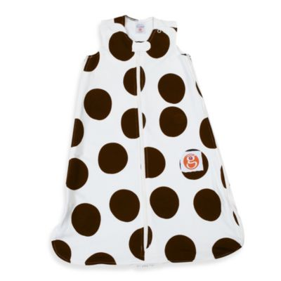 Gunamuna Gunapod Wearable Blanket in Chocolate Dot