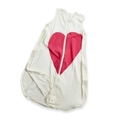 Gunamuna Gunapod Small Wearable Blanket with WONDERZiP in Heart Print