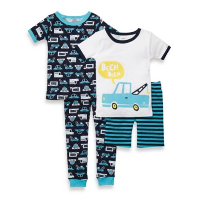 Carter's® Size Tow Truck 4-Piece Pajama Set in Blue