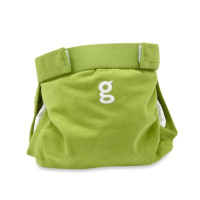 gDiapers Medium gPants in Guppy Green