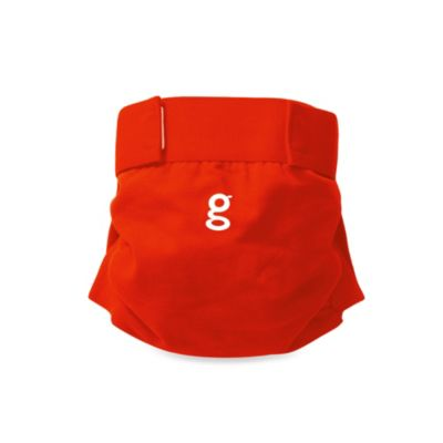 gDiapers Small gPants in Good Fortune Red