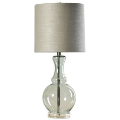 Lagos Glass and Acrylic Table Lamp
