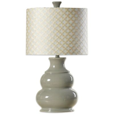 Coventry Juliette Table Lamp in Cool Grey