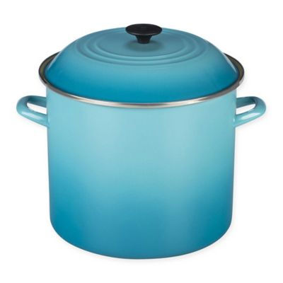 Le Creuset® 16-Quart Stockpot in Palm