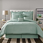 Real Simple® Linear Patchwork Comforter Set in Aqua