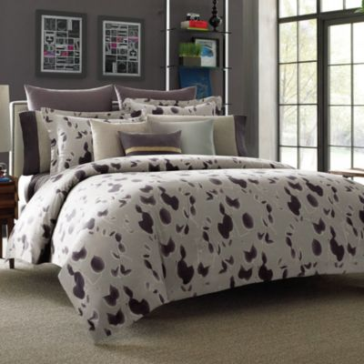 Kenneth Cole Reaction Home Shade European Pillow Sham in Plum