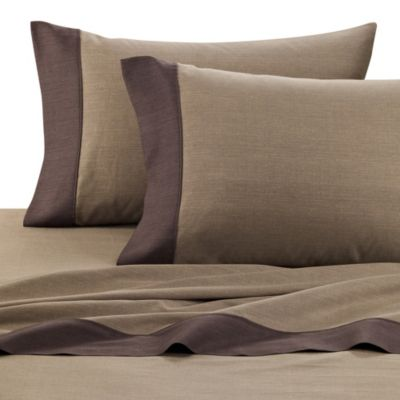 Kenneth Cole Reaction Home Shade Pillowcases in Linen (Set of 2)