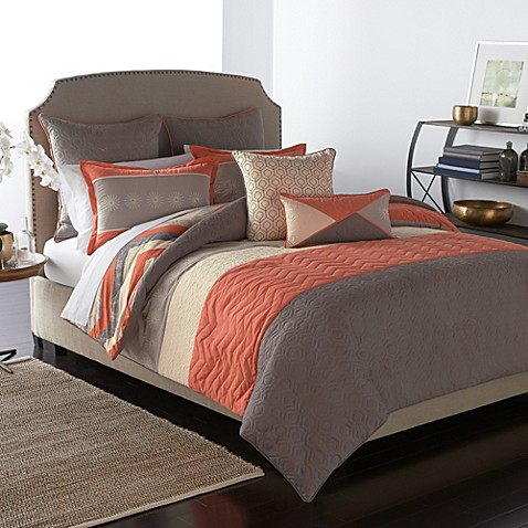 parker loft brisbane comforter set bed bath beyond. Black Bedroom Furniture Sets. Home Design Ideas