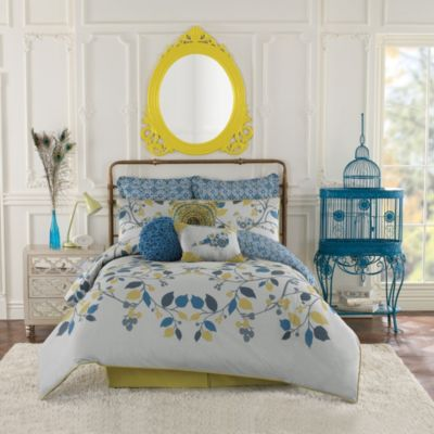 Anthology™ Bloomsbury Reversible Twin/Twin XL Comforter Set