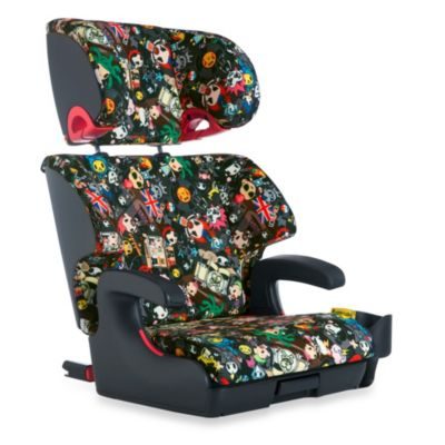 Clek Oobr Full Back Booster Seat in tokidoki Rebel