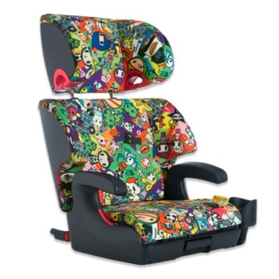 Clek Oobr Full Back Booster Seat in tokidoki All Over