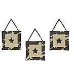 Sweet Jojo Designs Camo 3-Piece Wall Hanging Set