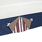 Sweet Jojo Designs Nautical Nights Queen Bed Skirt