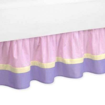 Sweet Jojo Designs Pretty Pony Toddler Bed Skirt