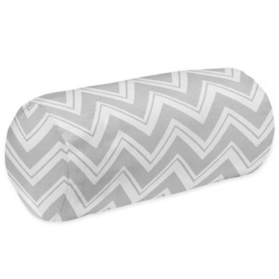 Zig Zag Decorative Neckroll Bolster Pillow
