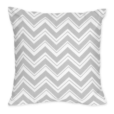 Sweet Jojo Designs Zig Zag Decorative Pillow