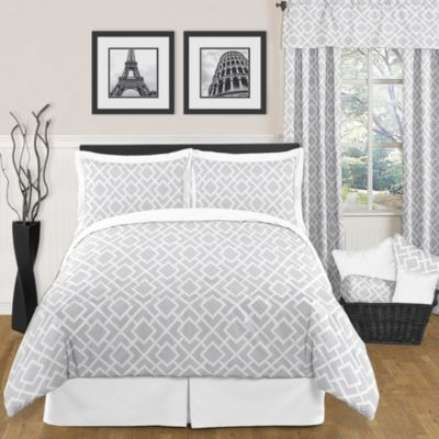 Sweet Jojo Designs Diamond Full/Queen Bedding Set