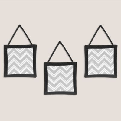 Grey/Black Baby Wall Decor