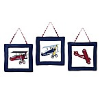 Sweet Jojo Designs Vintage Aviator 3-Piece Wall Hanging Set