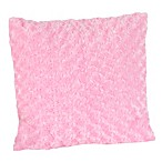 Sweet Jojo Designs Olivia Toss Pillow in Minky Swirl