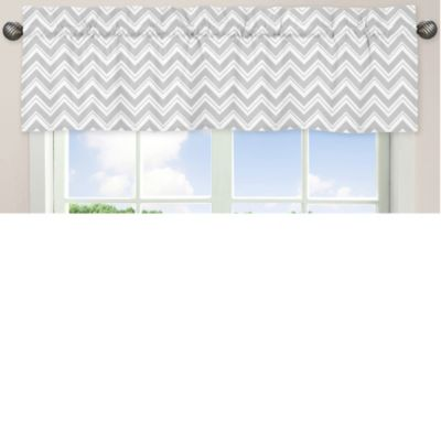 Sweet Jojo Designs Zig Zag Window Valance