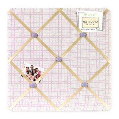 Sweet Jojo Designs Pretty Pony Fabric Memo Board