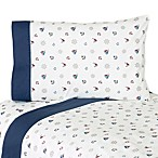 Sweet Jojo Designs Nautical Nights Sheet Set
