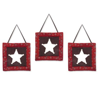 Sweet Jojo Designs Wild West Wall Hangings (Set of 3)